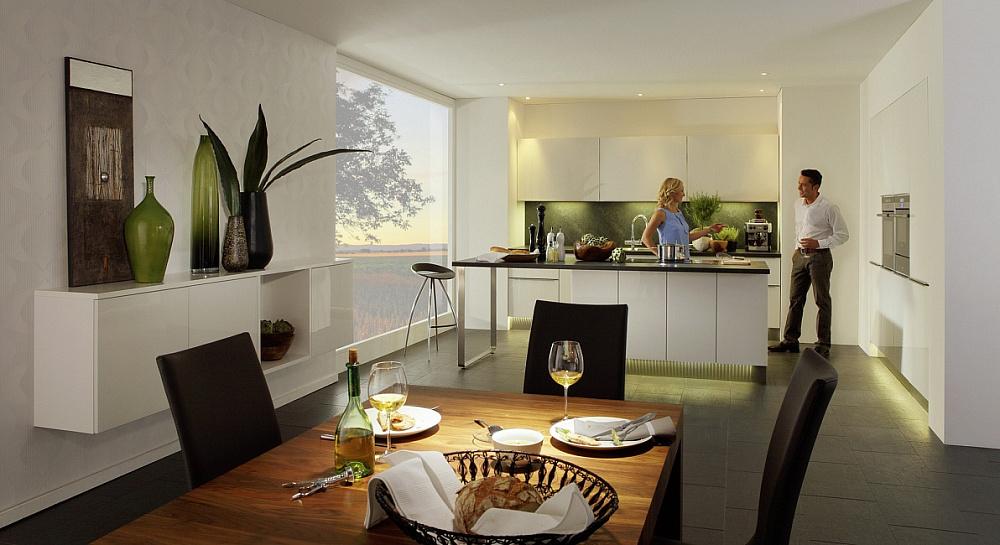 Nolte Glas Tec кухни nolte серия glas tec plus элитные кухни из германии